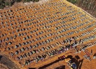 """""""فيلم رعب"""".. مقبرة جماعية لـ كورونا تملأ غابة برازيلية بتوابيت الموتى"""