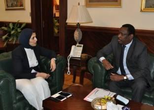 وزيرة الصحة تستقبل نظيرها السوداني لتعزيز التعاون الطبي بين البلدين