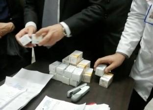 """محافظ كفر الشيخ يوزع أول جرعة علاجية لـ""""فيروس سي"""""""