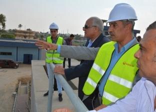 محافظ الجيزة يوجه بسرعة إنهاء مشروعات الصرف الصحي والإسكان في العياط