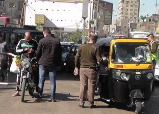 ضبط 11 متهما وتحرير 168 قضية مرافق و231 مخالفة مرورية في شبرا الخيمة