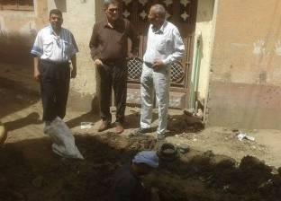 عودة ضخ المياه لبئر العبد بشمال سيناء بعد إصلاح خط 700 الرئيسي