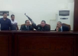 """تأجيل محاكمة 13 إخوانيا في """"حرق مقر الأمن الوطني"""" لـ27 أكتوبر"""