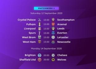 عاجل.. إعلان جدول مباريات الدوري الإنجليزي للموسم الجديد 2020-2021