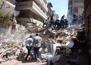 انهيار منزلين إثر هبوط أرضي دون إصابات في سوهاج