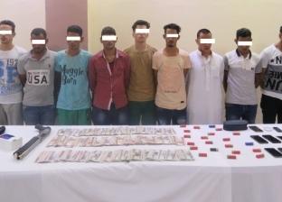 ضبط عصابة لسرقة محطة وقود بالجيزة والاستيلاء على 350 ألف جنيه