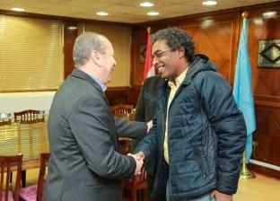 محافظ كفر الشيخ يبحث استعدادات زيارة وزيرة الثقافة لافتتاح قصر دسوق
