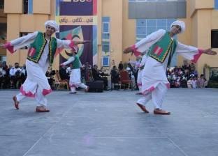 فرقة رضا تشارك في فعاليات المهرجان الدولي الثاني بجامعة بدر