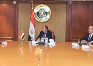 نصار يبحث مع سفير كازاخستان مستقبل التعاون الاقتصادي بين البلدين