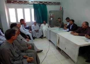 """رئيس """"مياه سوهاج"""": نواصل توعية أهالي القرى المستفيدة من مشروعات الصرف"""