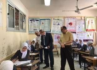 وكيل وزارة الصحة بالدقهلية يتفقد لجان امتحانات مدارس التمريض