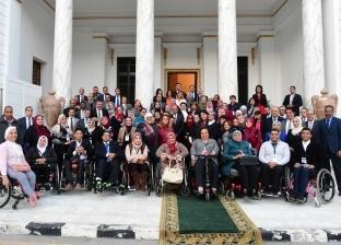 البرلمان يستضيف وفدا من متحدي الإعاقة احتفالا بيومهم العالمي