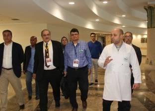 وفد من الجمعية المصرية للأوعية الدموية يزور مستشفى شفاء الأورمان