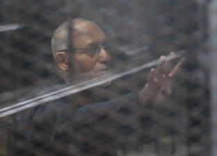 """تأجيل محاكمة """"بديع"""" في """"اقتحام قسم العرب"""" لـ 21 نوفمبر"""