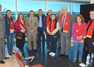 للاحتفال بيوم القيامة.. 600 حاج مسيحي يغادرون مطار القاهرة إلى القدس