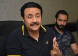 """الفنان محمد صلاح: ريمون مقار له فضل كبير لنجاحي في """"الأب الروحي"""""""