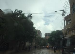 بالصور| أمطار رعدية وانخفاض الحرارة.. طقس سيئ يضرب عددا من المحافظات