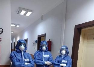 تعافي 15 حالة جديدة من مصابي كورونا بعزل مدينة بني سويف الجامعية