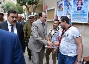 """محافظ الدقهلية يضع حجر أساس مدرسة """"عبدالفتاح السيسي"""" في المنصورة"""