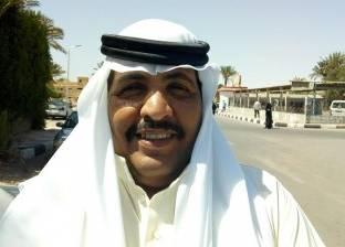 شيخ الحويطات يهنئ الأهالي بأعياد تحرير سيناء