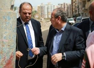 محافظ كفر الشيخ يكلف برفع الإشغالات وإصلاح أعمدة الإنارة المتهالكة