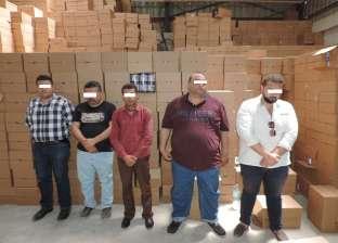 ضبط عصابة ألبان الأطفال الفاسدة بـ 245 طنا في الإسكندرية