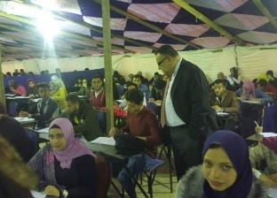 """امتحان مادة """"حقوق الإنسان"""" إلكترونيا للمرة الأولى بجامعة الإسكندرية"""