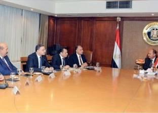 """""""مواد البناء"""" المصرية تتأهب للمشاركة في إعادة إعمار سوريا وليبيا"""