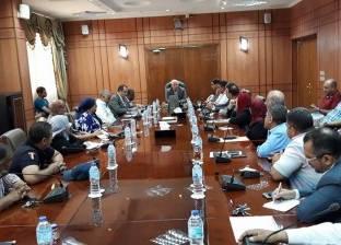 """محافظ بورسعيد: سرعة الانتهاء من توصيل المرافق لـ""""44 عمارة"""""""
