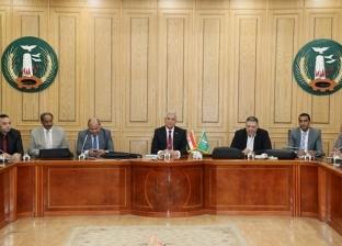 محافظ المنوفية يستقبل لجنة التفتيش والمتابعة بوزارة التنمية المحلية