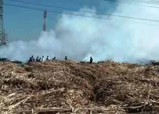تحرير 277 محضرا في مجال حرق المخلفات الزراعية بسوهاج