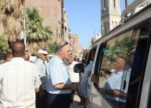 رئيس مركز مطاي بالمنيا يتفقد موقف السيارات للالتزام بالتعريفة