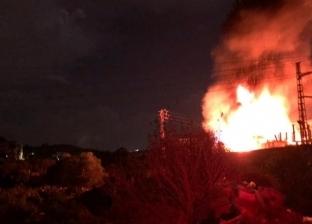 """أهالي """"تلبانة"""" بالدقهلية يشعلون النار في منزل سيدة متهمة بقتل شاب"""