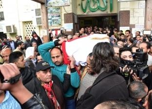 إقامة صلاة جنازة الفنانة ماجدة.. وغادة نافع تنهار بالبكاء