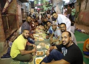 """""""الأبريه أساسي"""".. فطار جماعي للنوبيين في""""بولاق الدكرور"""": رمضان بيجمعنا"""