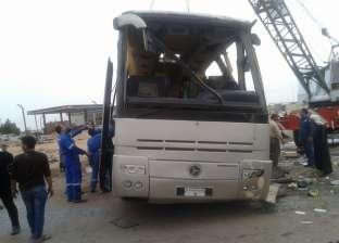 """نقل السائحين الصينين المصابين في حادث """"الزعفرانة"""" إلى مطار الغردقة لاستكمال رحلتهم إلى القاهرة"""