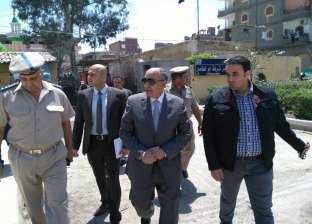 مساعد وزير الداخلية يفاجئ مركز شرطة أبوالمطامير ويتفقد خدمات الكنائس
