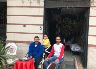 """أصحاب أقدم محل فراشة في السيدة عائشة: """"إحنا قاعدين عشان التاريخ"""""""