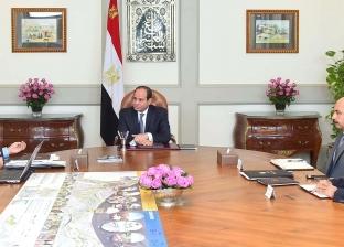 السيسي لرئيس الوزراء: يجب استمرار العمل في المشروعات وفق الجدول الزمني