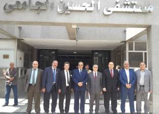 مدير الحسين الجامعي: إمداد المستشفى بأجهزة طبية قيمتها 50 مليون جنيه