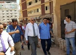 نائب رئيس جامعة المنصورة يتفقد المدن الجامعية وعمليات الصيانة والتجديد