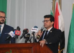 وزير الشباب خلال حفل الوفد: تكريم الرياضيين صورة إيجابية للمجتمع
