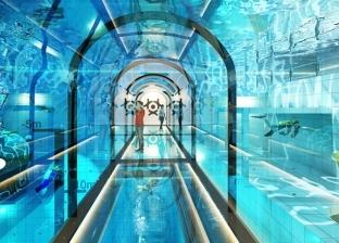 """بعمق 45 مترا.. """"ديب سبوت"""" أضخم حمام سباحة في العالم"""