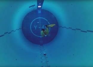 بالفيديو| لقطات تحبس الأنفاس من أعمق مسبح في العالم