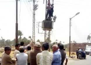 عاجل| مصرع عامل وإصابة 3 في انفجار محول كهرباء التبين