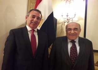 مصطفى الفقي من لندن: مصر على الطريق الصحيح والسيسي يعمل لصالح المواطن