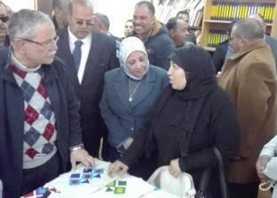 محافظ المنيا يتفقد الورش الفنية والحرفية بقرية الناصرية