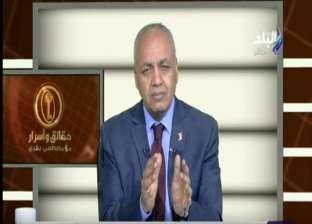 """مصطفى بكري: """"الشعب المصري متيقن أنه طرف أساسي في ما يحدث بمصر"""""""