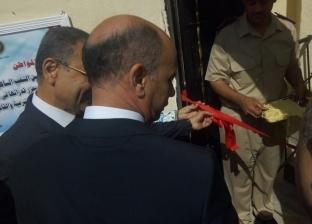 مدير أمن قنا يفتتح وحدة الفيش الجنائي بمركز أبوتشت