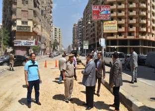 بالصور| محافظ الفيوم يشدد على مراجعة إنارة وصيانة الأرصفة بشوارع المدينة